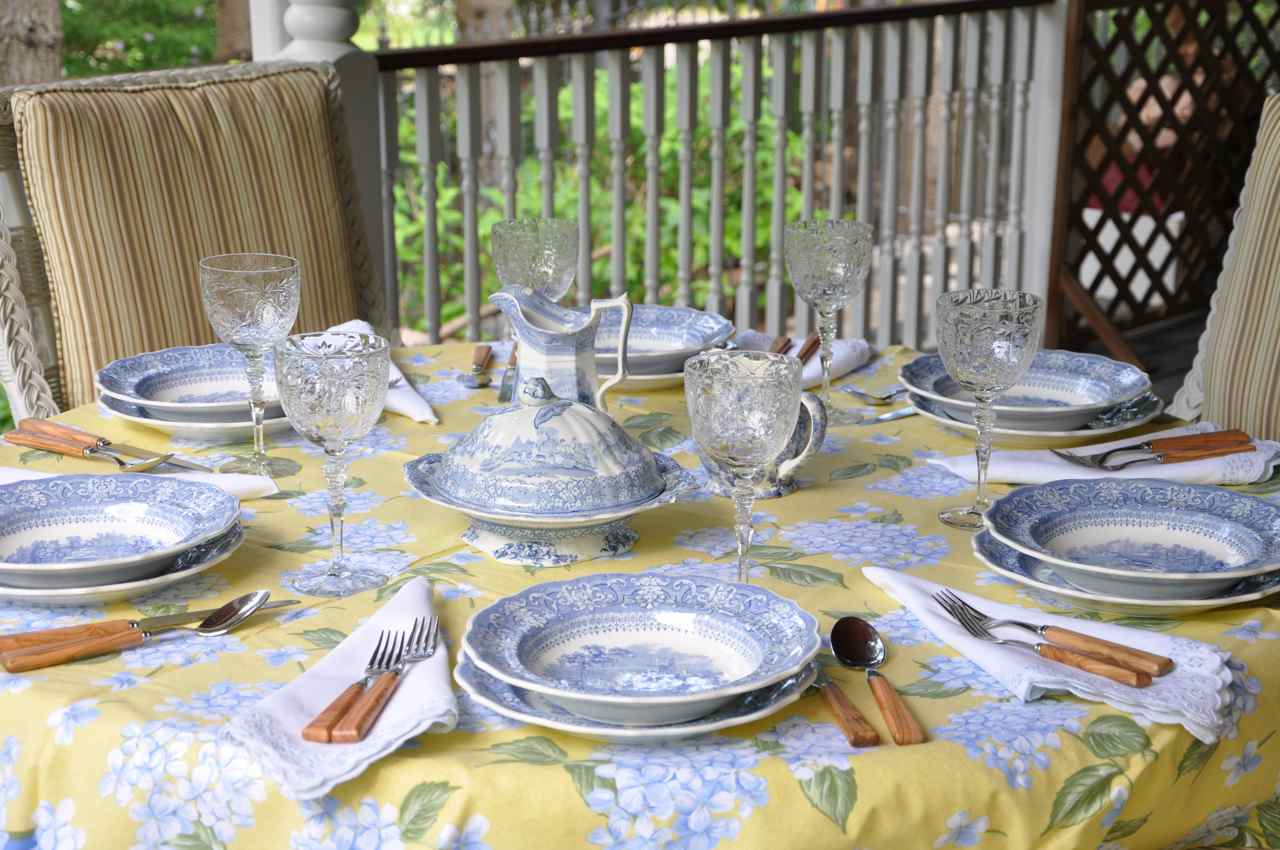 Fresh & Friendly – Blue & White Transferware