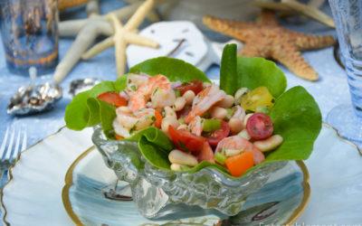 White Bean & Shrimp Salad