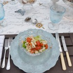 White Bean & Shrimp Salad