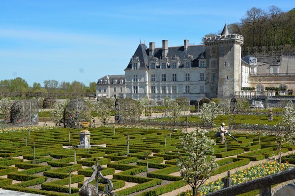 Entertablement Abroad – Chateau de Villandry