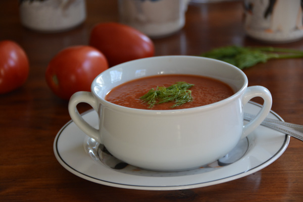 Tomato Soup with Dill
