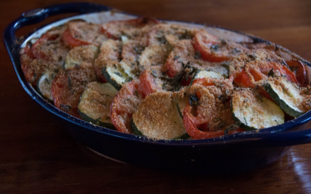 Mediterranean Vegetable Gratin