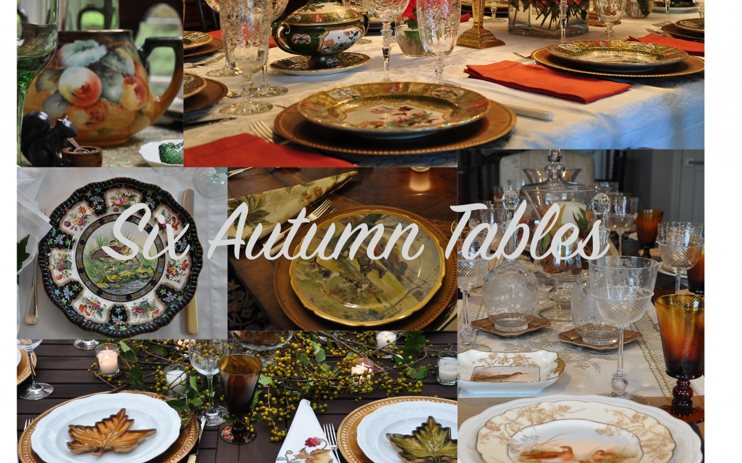 Six Autumn Tables