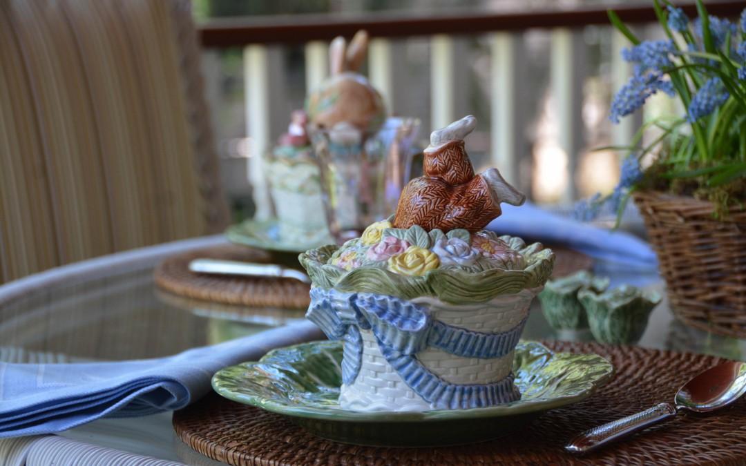 Bunny Bowls by Fitz & Floyd