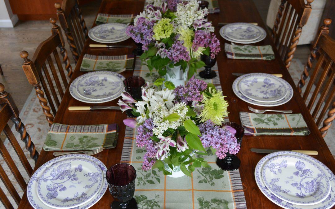 Lilacs & Gien Mures