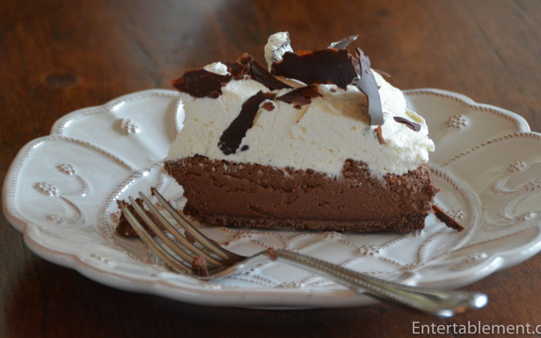 No-Bake Chocolate Mousse Pie