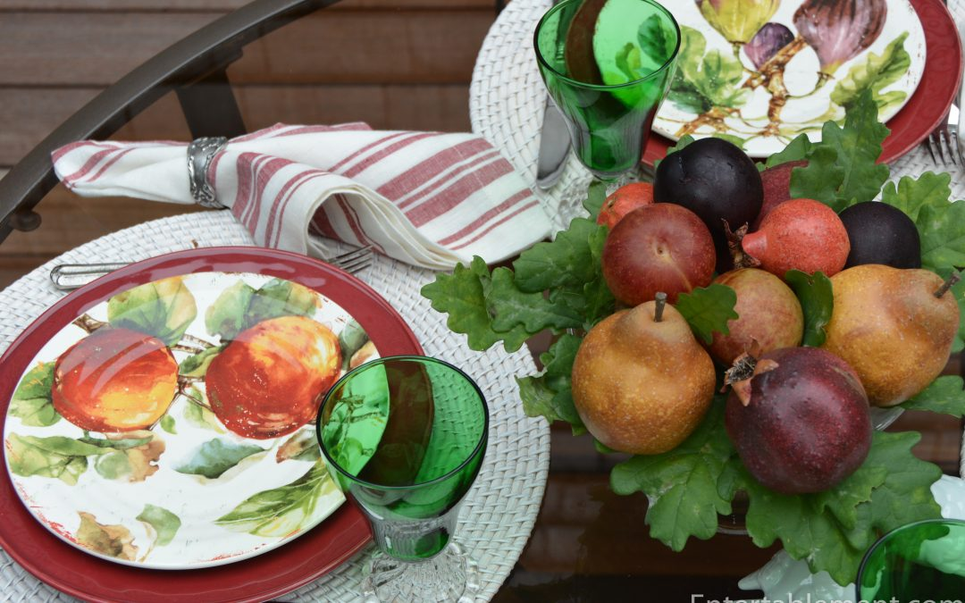 Exuberant Fruit – Verona Salad Plates by Pier 1