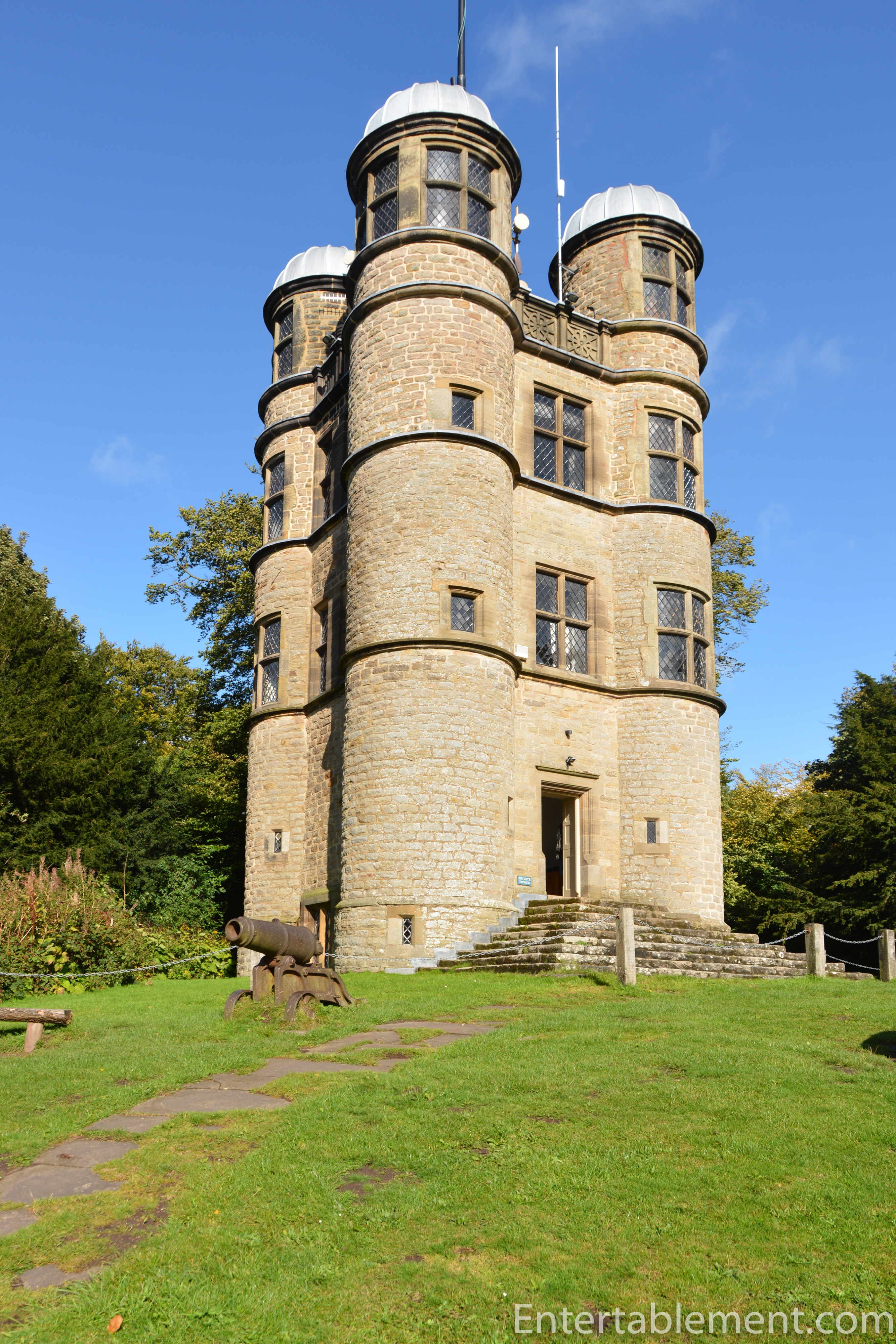 Chatsworth House Room: Entertablement Abroad: The Hunting Tower, Chatsworth