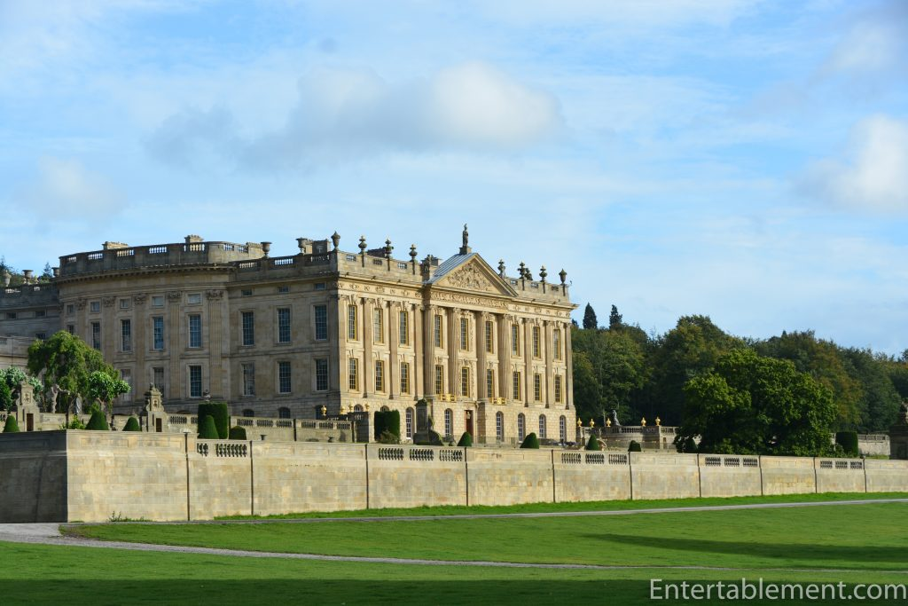 West Front of Chatsworth, Derbyshire