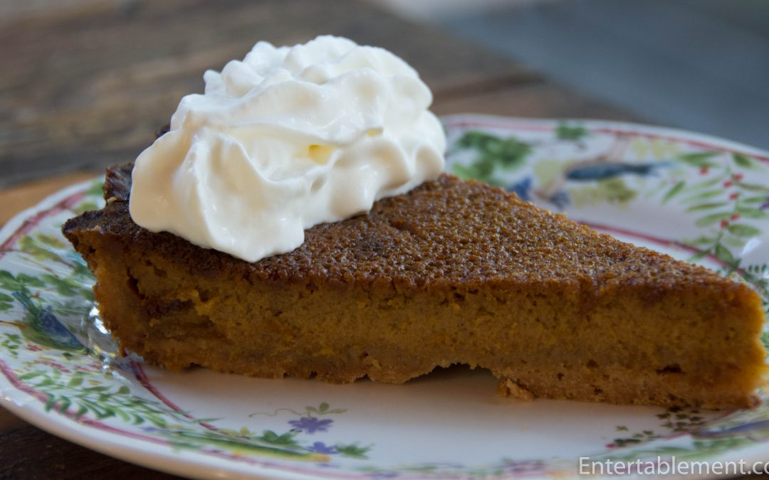 Pumpkin Pie With a No-Roll Crust