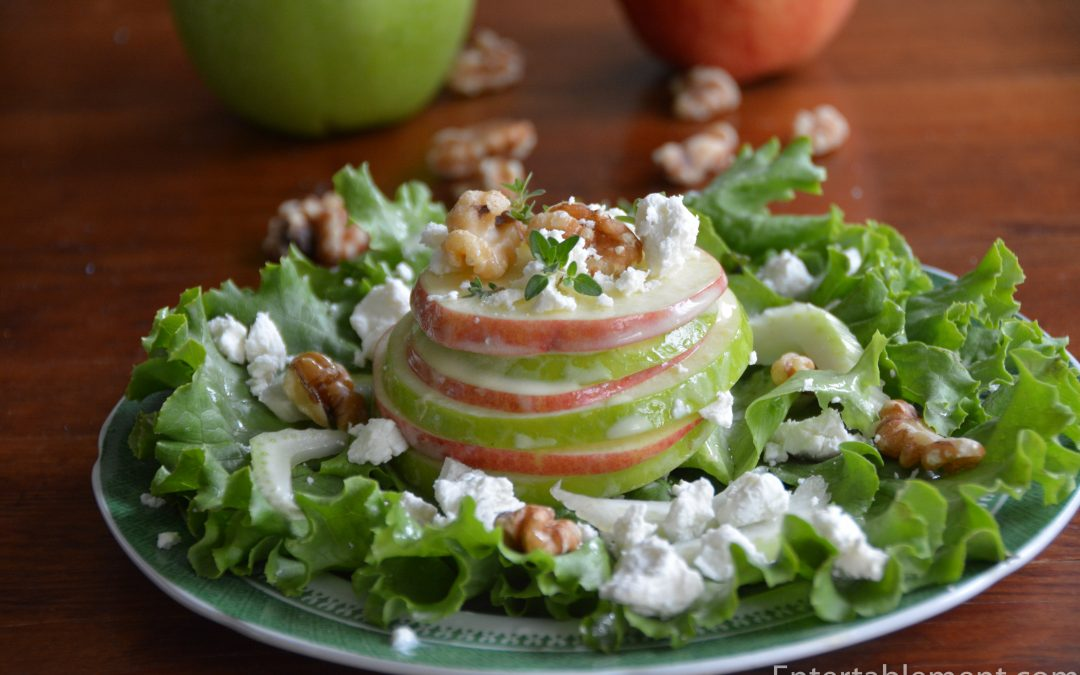 Stacked Waldorf Salad