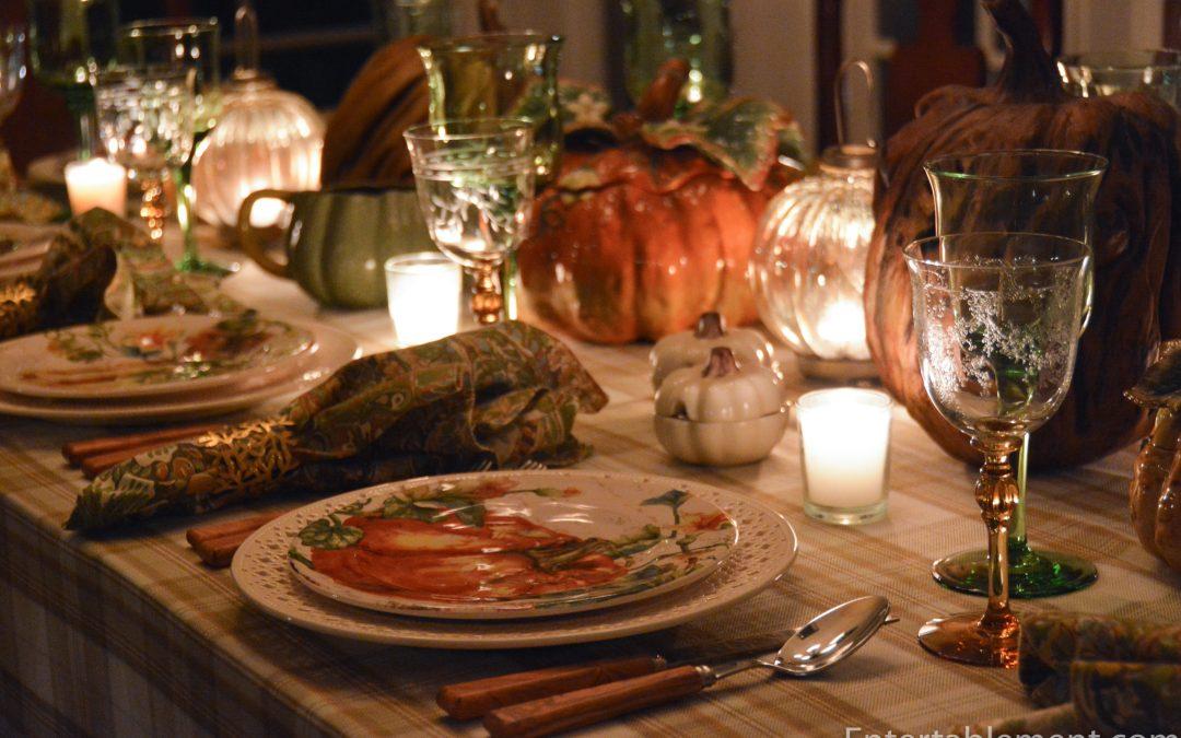 Pier 1 Pumpkin Plates