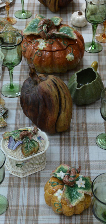 Pier 1 Pumpkin Plates Entertablement