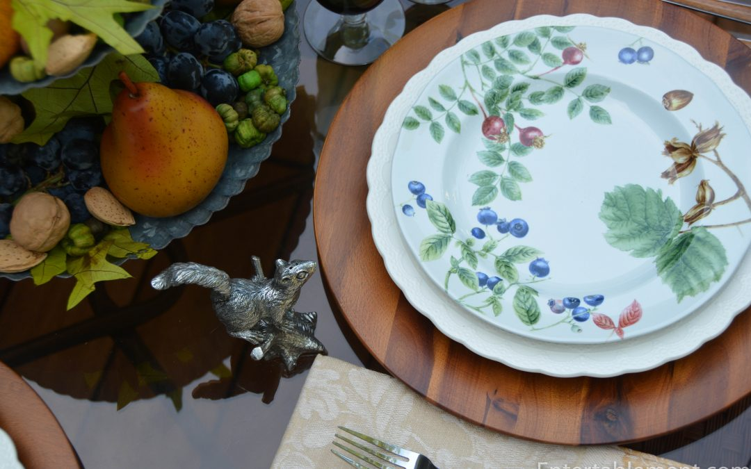 Spode Woodland Harvest