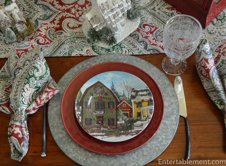 Christmas Village By David Carter Brown Entertablement
