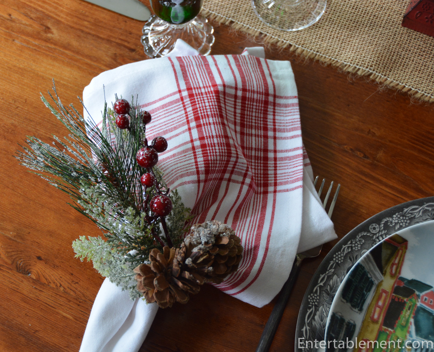 Winter Village By Pottery Barn Entertablement