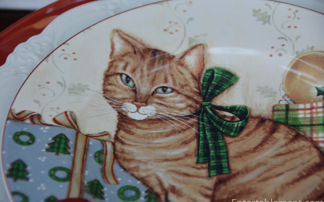 Christmas Kitties by David Carter Brown