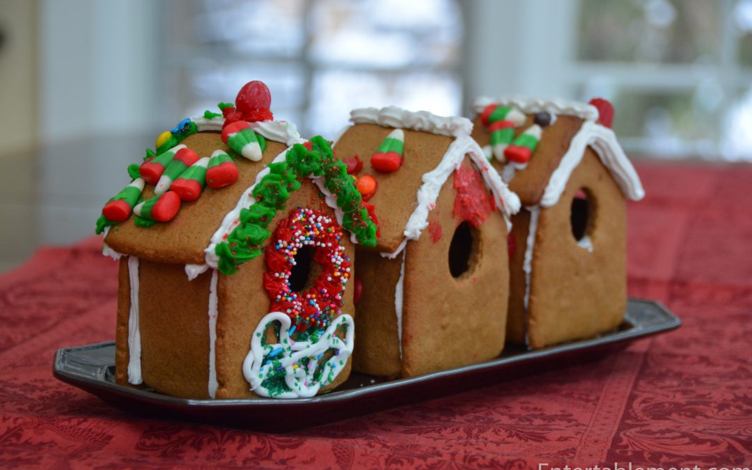 Small Gingerbread Houses Made Easy