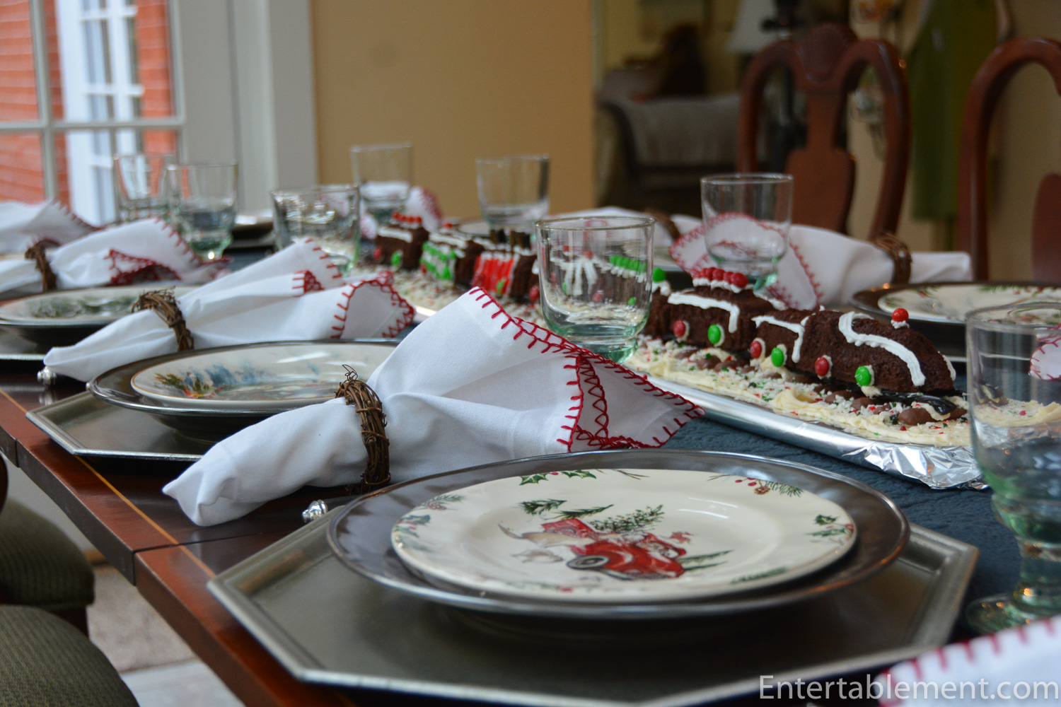 Trains Trees And Family Meals Entertablement