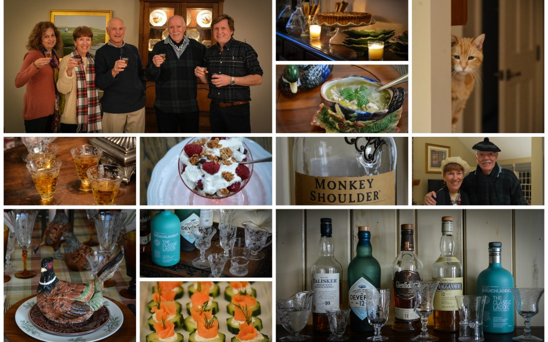 A Robert Burns Scotch Tasting Dinner