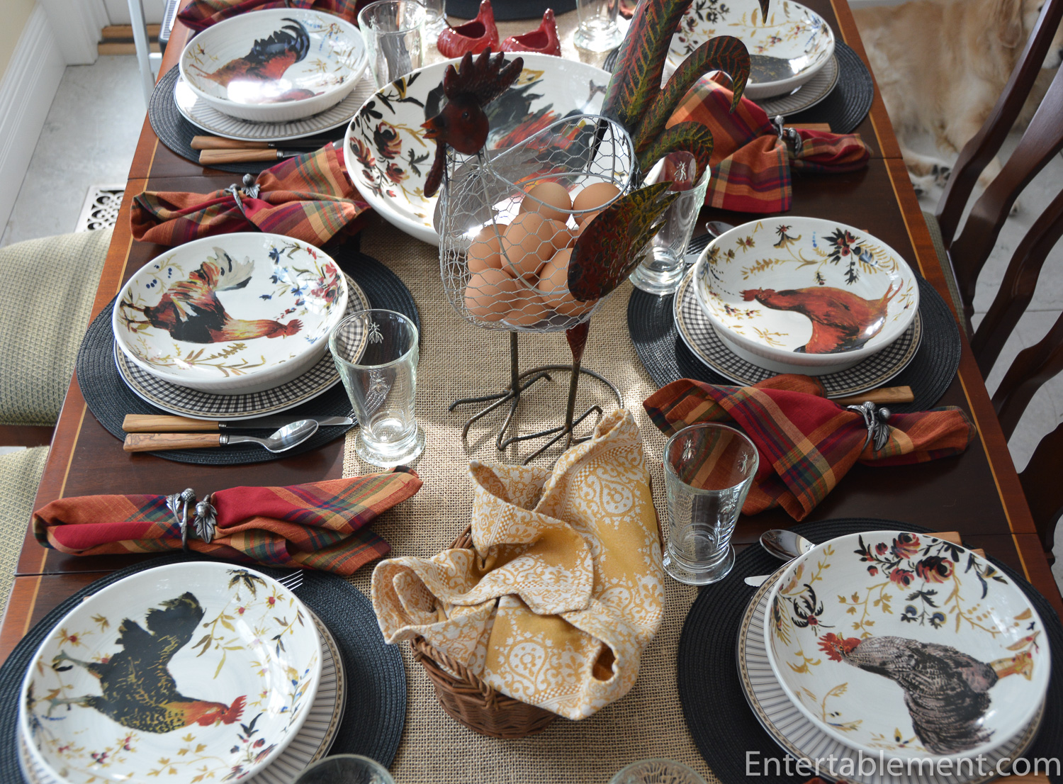 Rooster Fran 231 Ais By Williams Sonoma Entertablement