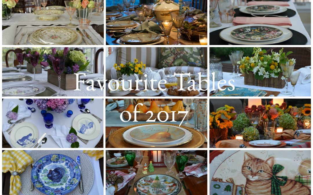 Favourite Tables of 2017