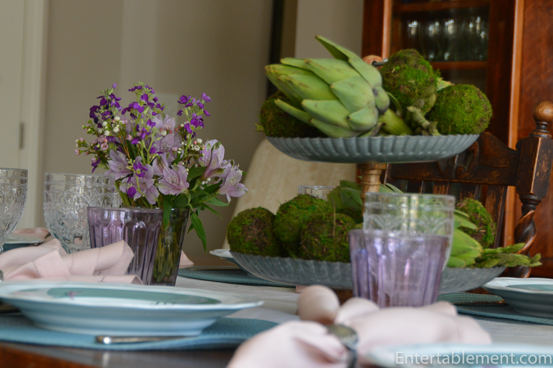 Williams Sonoma Asparagus Plates Entertablement