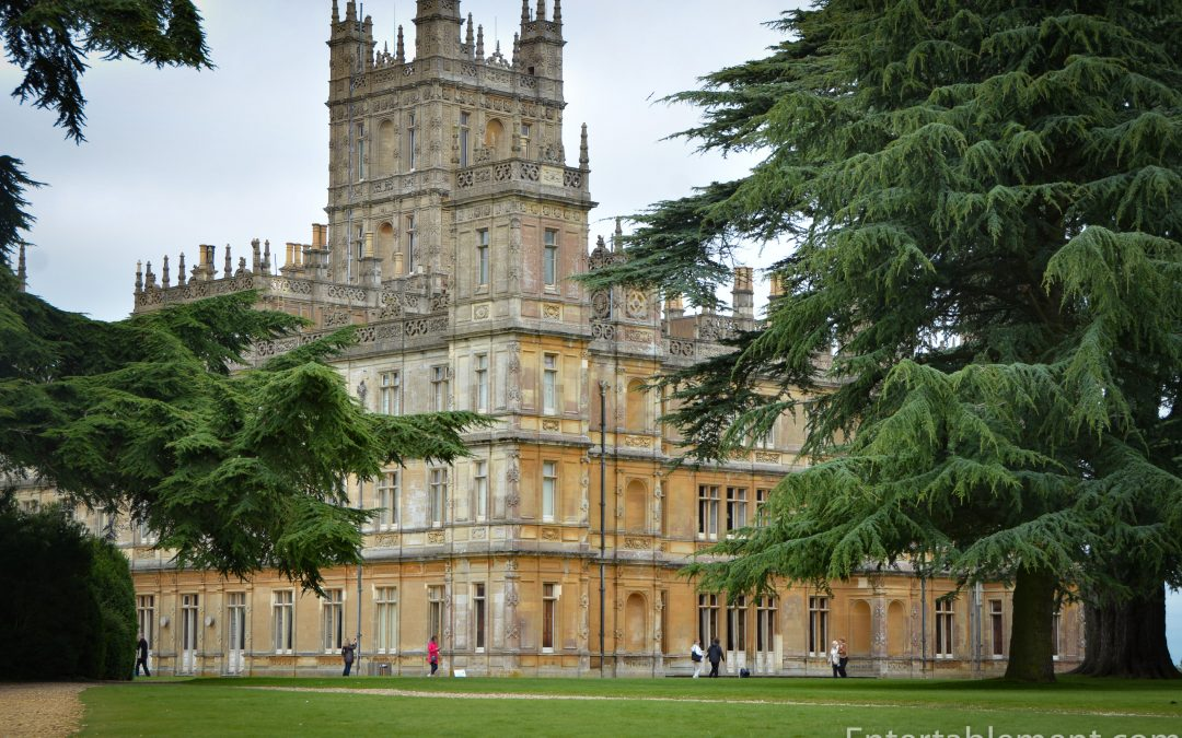 "Update on ""Come and Dine"" at Highclere"