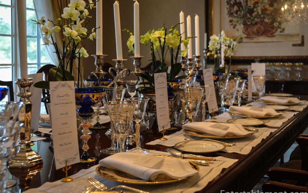 """Come and Dine"" at Highclere Castle – The Dinner!"