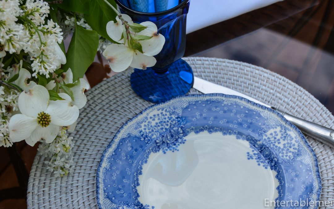 Blue & White: Royal Doulton RD78