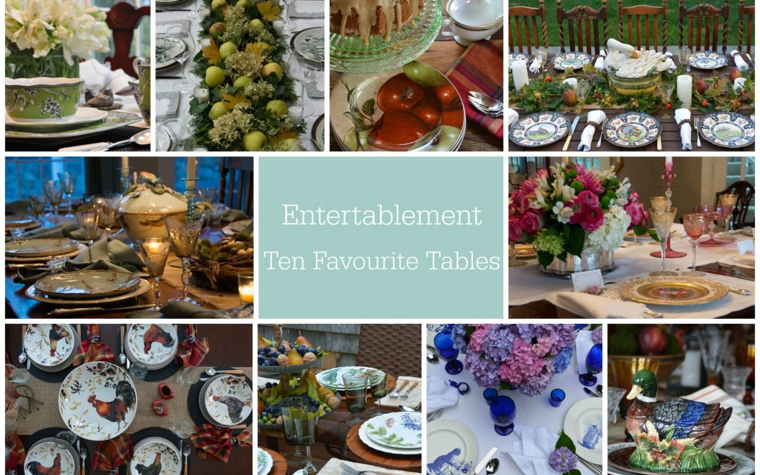 Celebrating 10 Favourite Tables for Tablescape Thursday