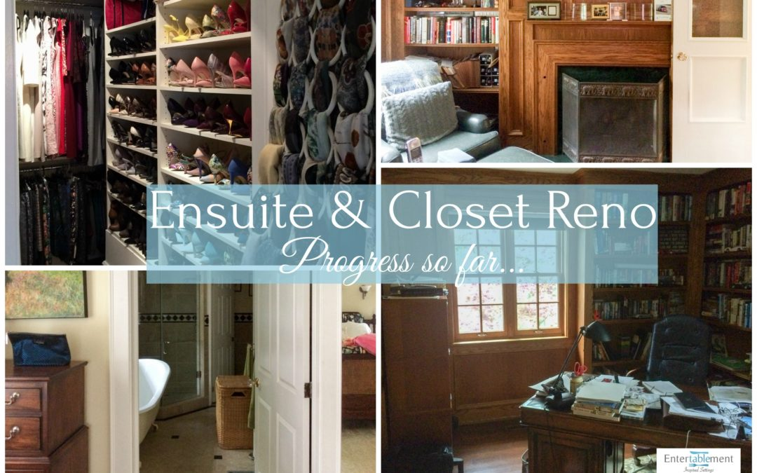 Before and Not-Yet-After: Ensuite & Closet Reno