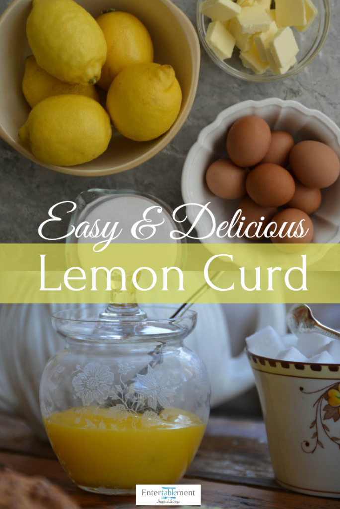 recipe for lemon curd