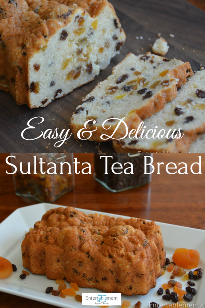 raisin tea bread recipe