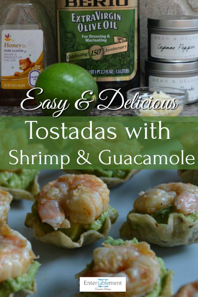 shrimp guacamole tostada recipe