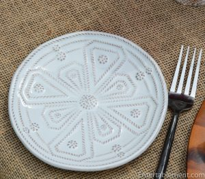Juliska Jardins du Monde Appetizer Plate