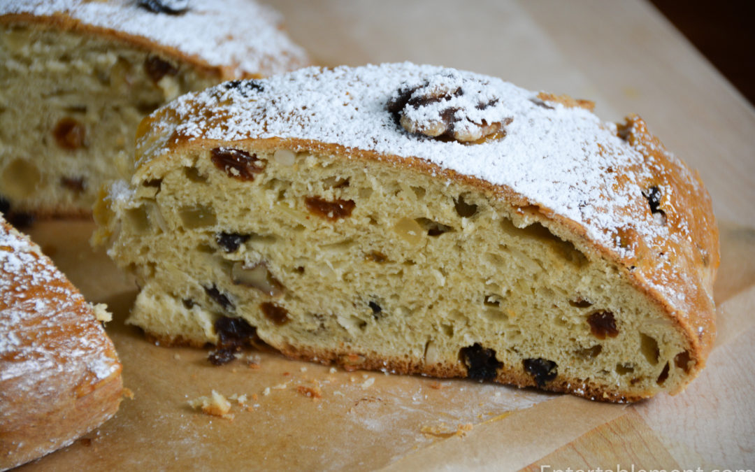 Sweet Bread with Raisins & Candied Citrus