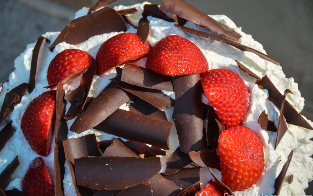 Strawberry Trifle with Chocolate Mousse