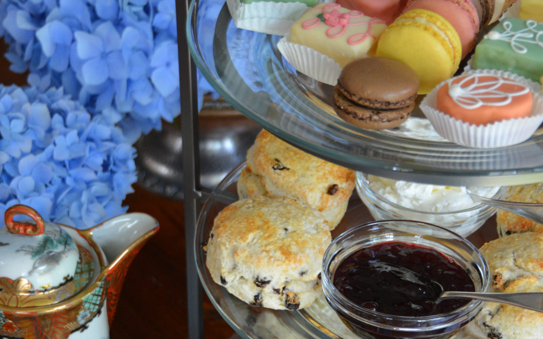 Afternoon Tea with Scones