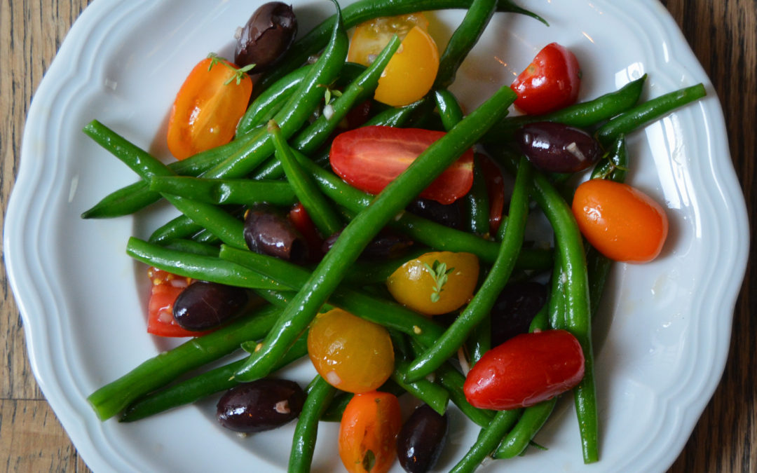 Green Beans, Tomatoes and Kalamata Olive Salad