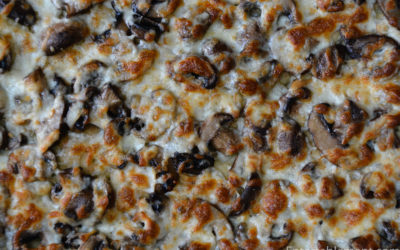 Mushroom & Smoked Mozzarella Foccacia