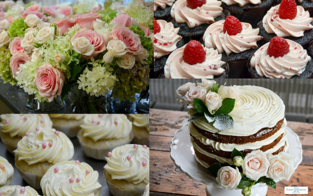 Flowers &  Cupcakes – Behind the Scenes at a Fall Wedding