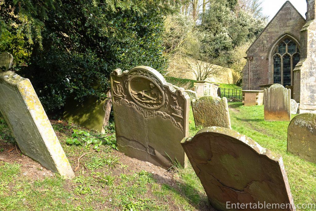 Gravestones at Dyrham Park
