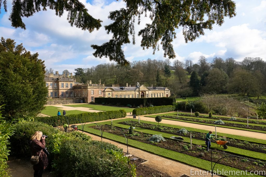 Formal Gardens on the West side of Dyrham Park