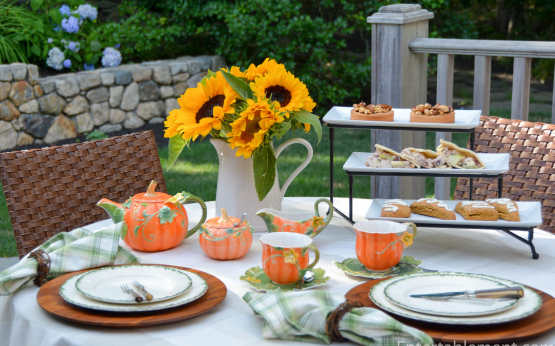 Celebrate Fall with a Pumpkin Inspired Tea