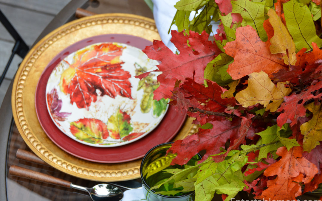 Vivid Fall Colours with Wildwood Leaves