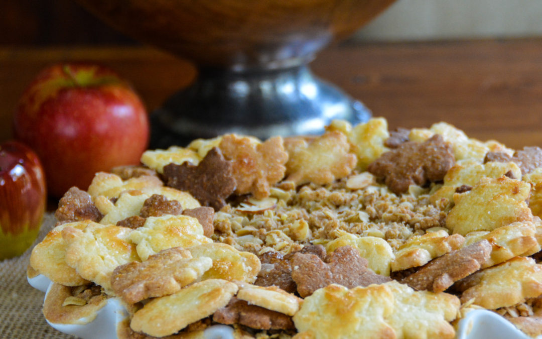 Apple Pie with Oatmeal-Almond Crumble