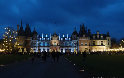Entertablement Abroad – Christmas Market at Waddesdon