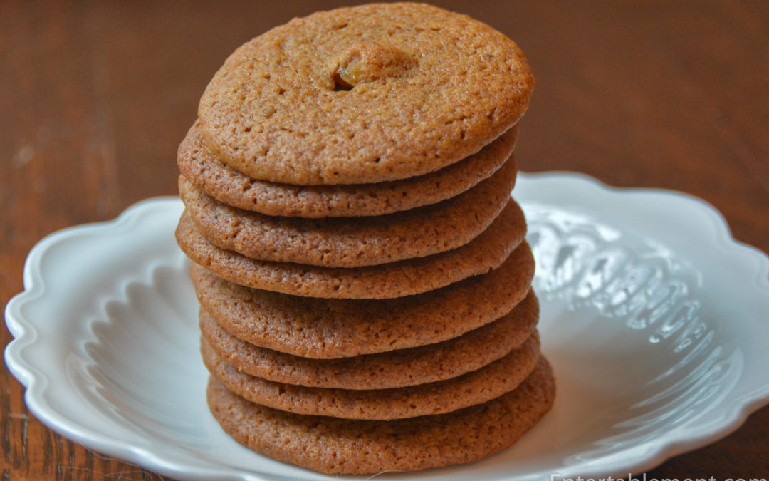Spicy Orange Ginger Cookies