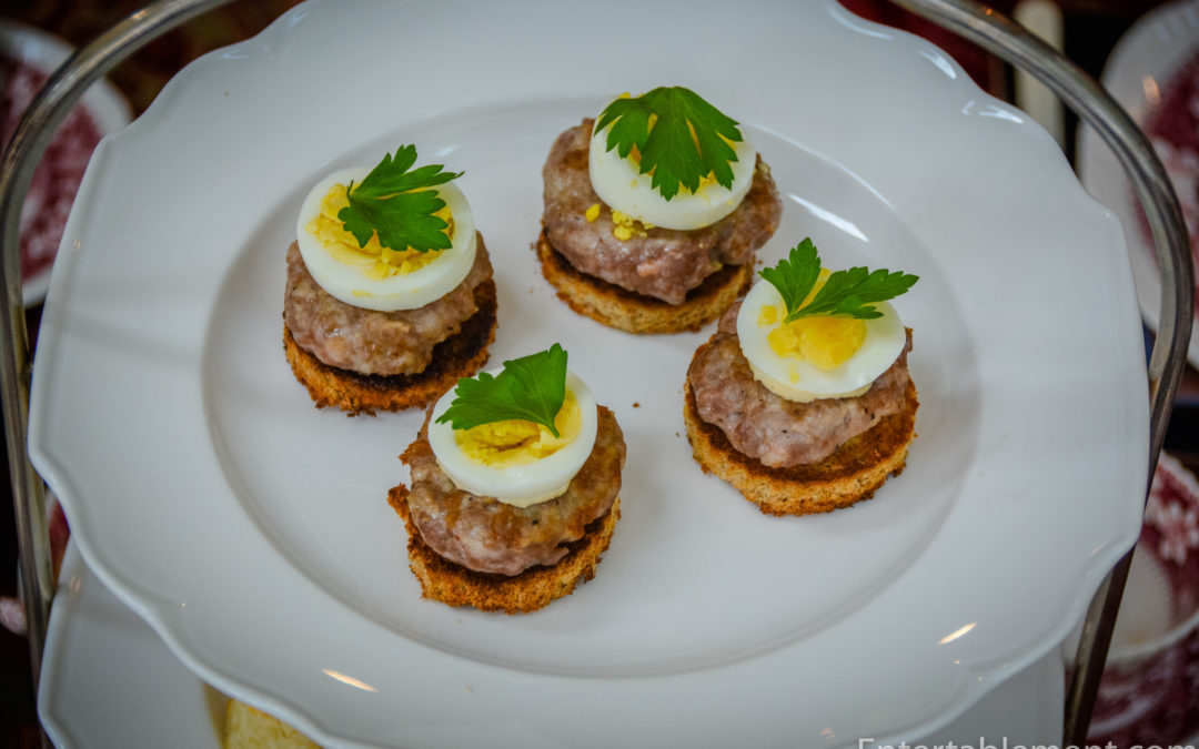 Deconstructed Scotch Eggs
